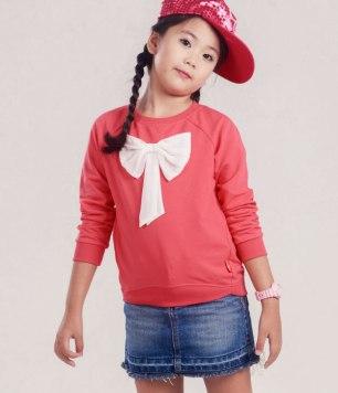 girl knit-shirt long sleeve 1