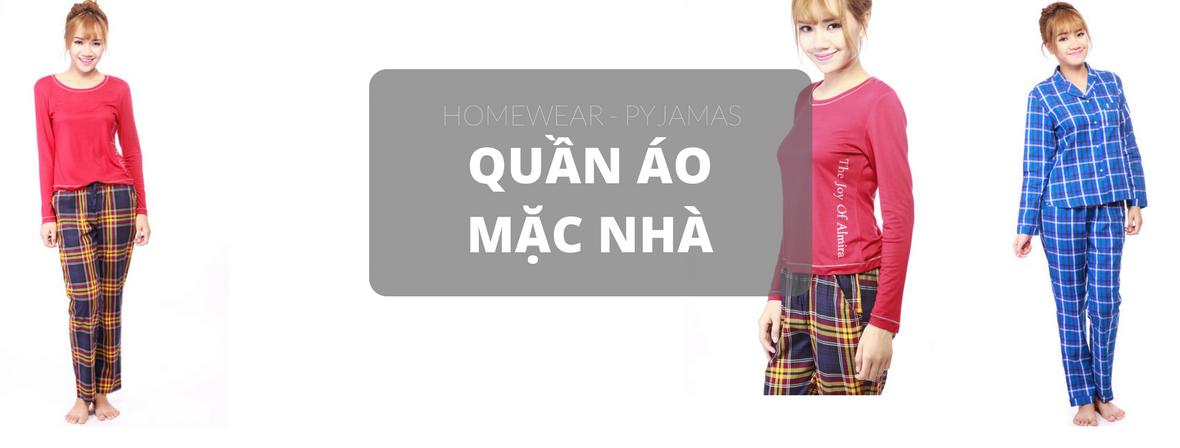 Quần áo mặc nhà - Thời trang mặc nhà - pyjamas