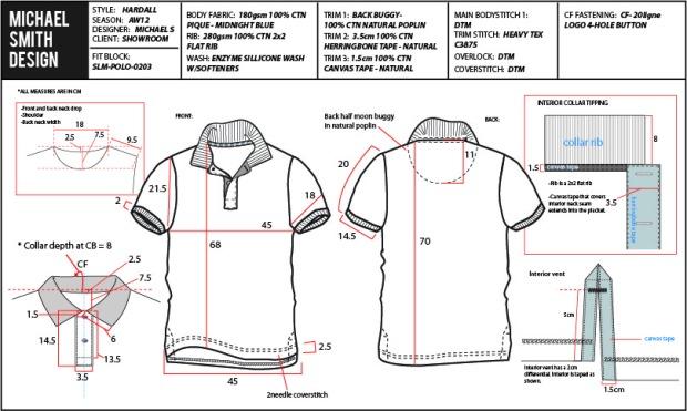 một ví dụ về teck-pack cho đơn đặt hàng FOB thời trang