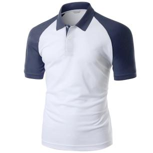 Polo shirt phom tay ráp-lăng