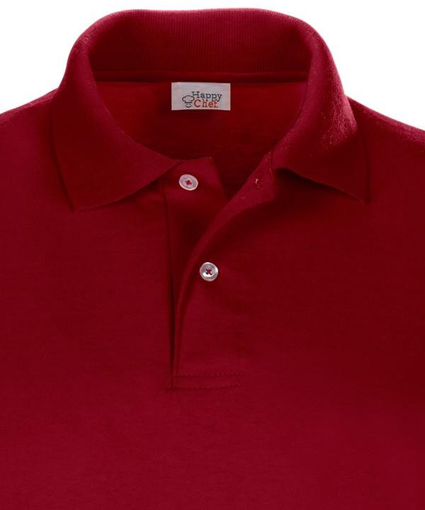 áo thun cổ trụ - áo polo vải jersey