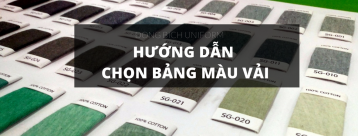 Hướng dẫn chọn bảng màu vải áo thun